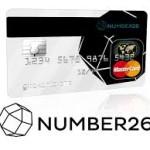 Number 26 nimmt als Prepaid-Kreditkarte einen besonderen Platz ein in unserem Kreditkarte-USA-Test